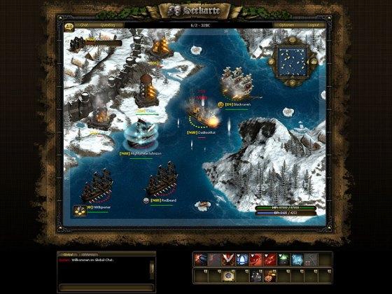 Скриншот из игры Seafight