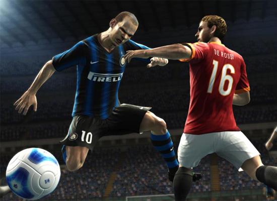 Скрин из игры PES 2012