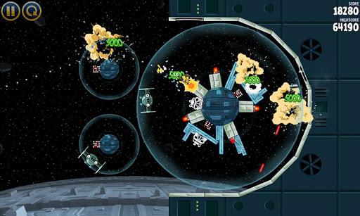 Angry Birds Star Wars - геймплей