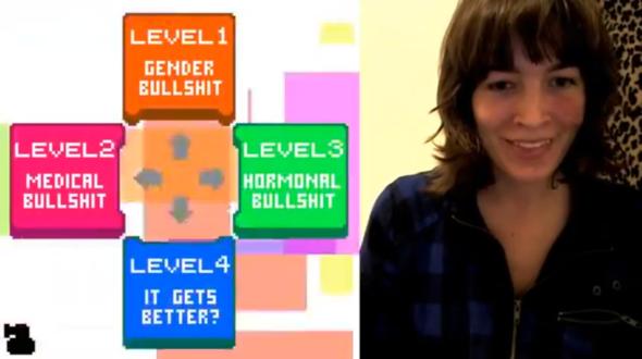 Dys4ia - игра про гендерные и гормональные проблемы