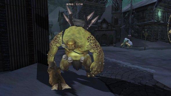 Reborn Online - зелёный орк