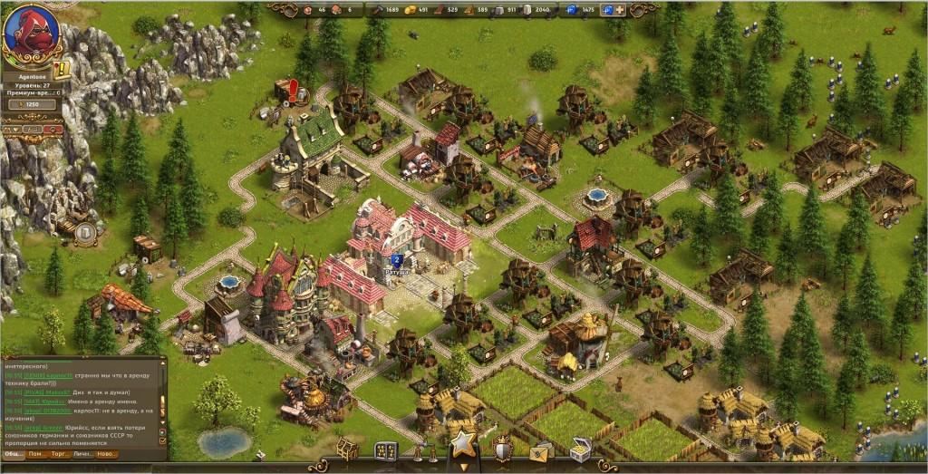 The Settlers Онлайн - бесплатная браузерная стратегия от студии Ubisoft Blue Byte