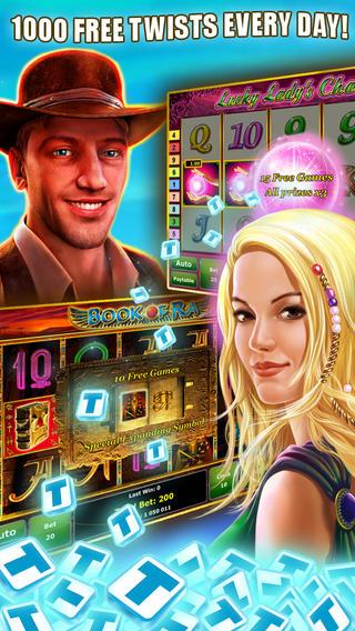 GameTwist Slots – iOS приложение для любителей игровых автоматов и казино