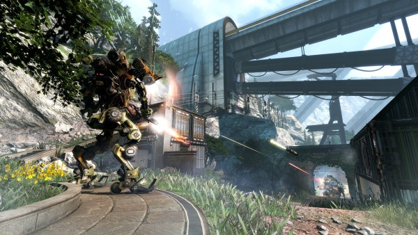 Titanfall Frontiers Edge Game HD Wallpaper