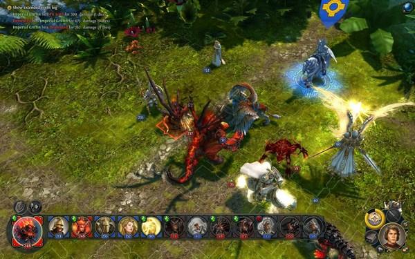 Герои магии и меча геймплей