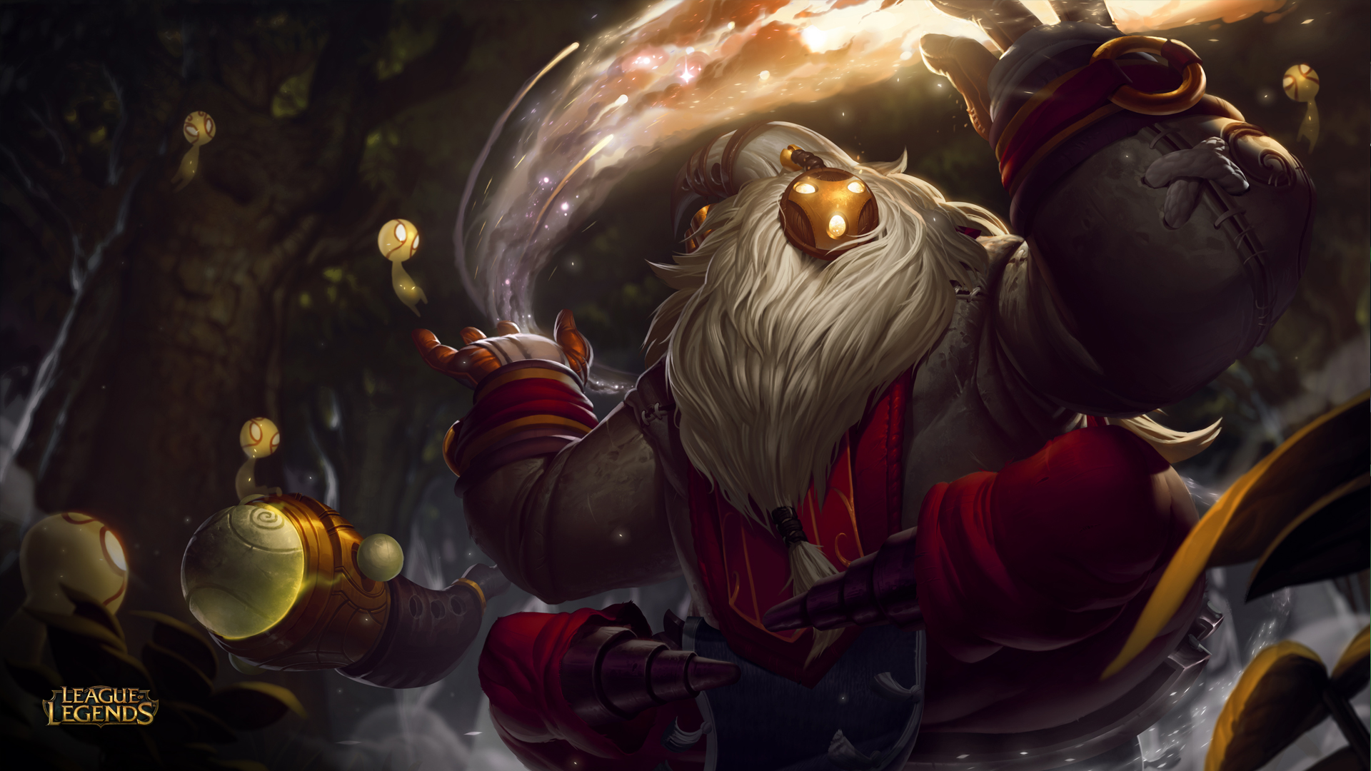 Bard the Wandering Caretaker (guide, build) - новый чемпион в League of Legends