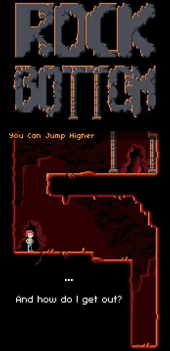 Умри чтобы выиграть: бесплатная игра-платформер Rock Bottom