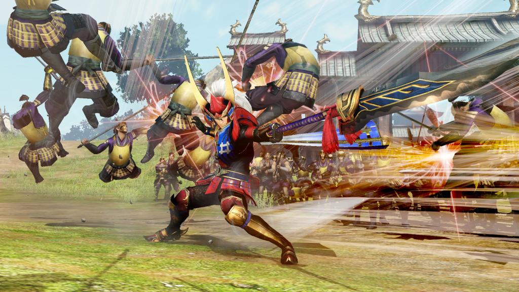 Игра Samurai Warriors 4-2