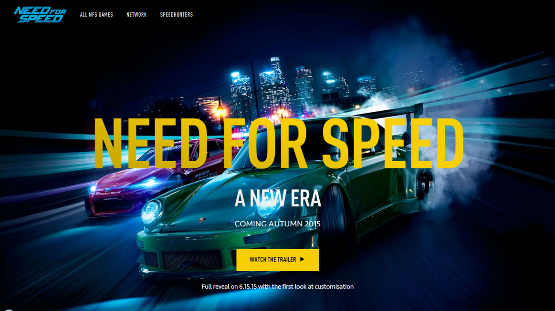 Анонсировано возрождение серии Need For Speed
