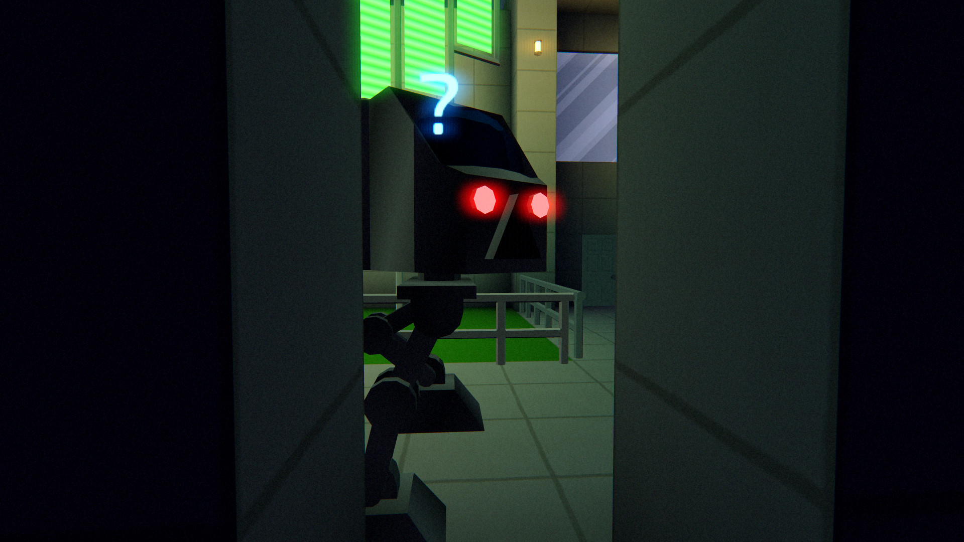 Встревоженный робот