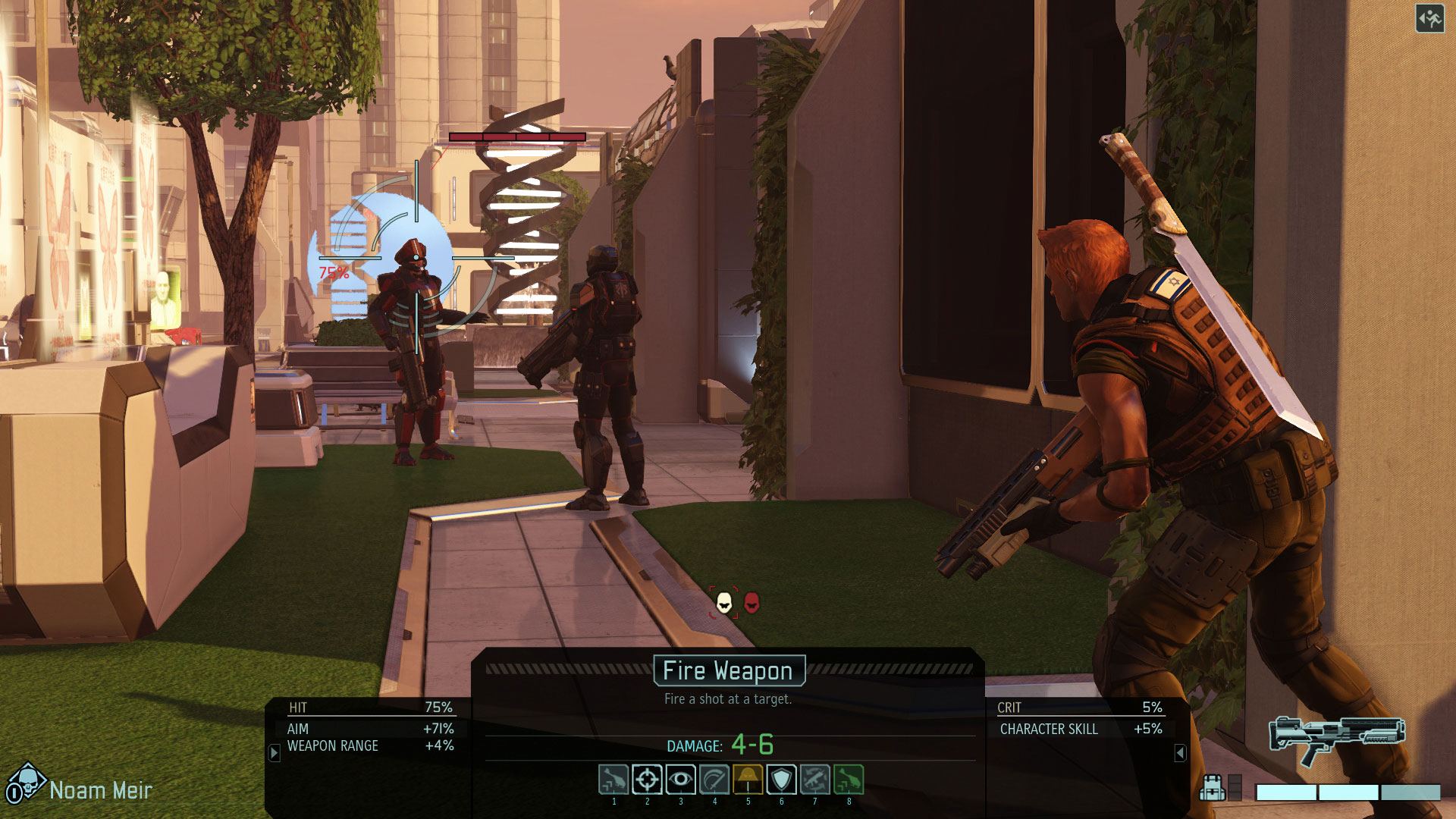 Скриншоты из игры XCOM 2