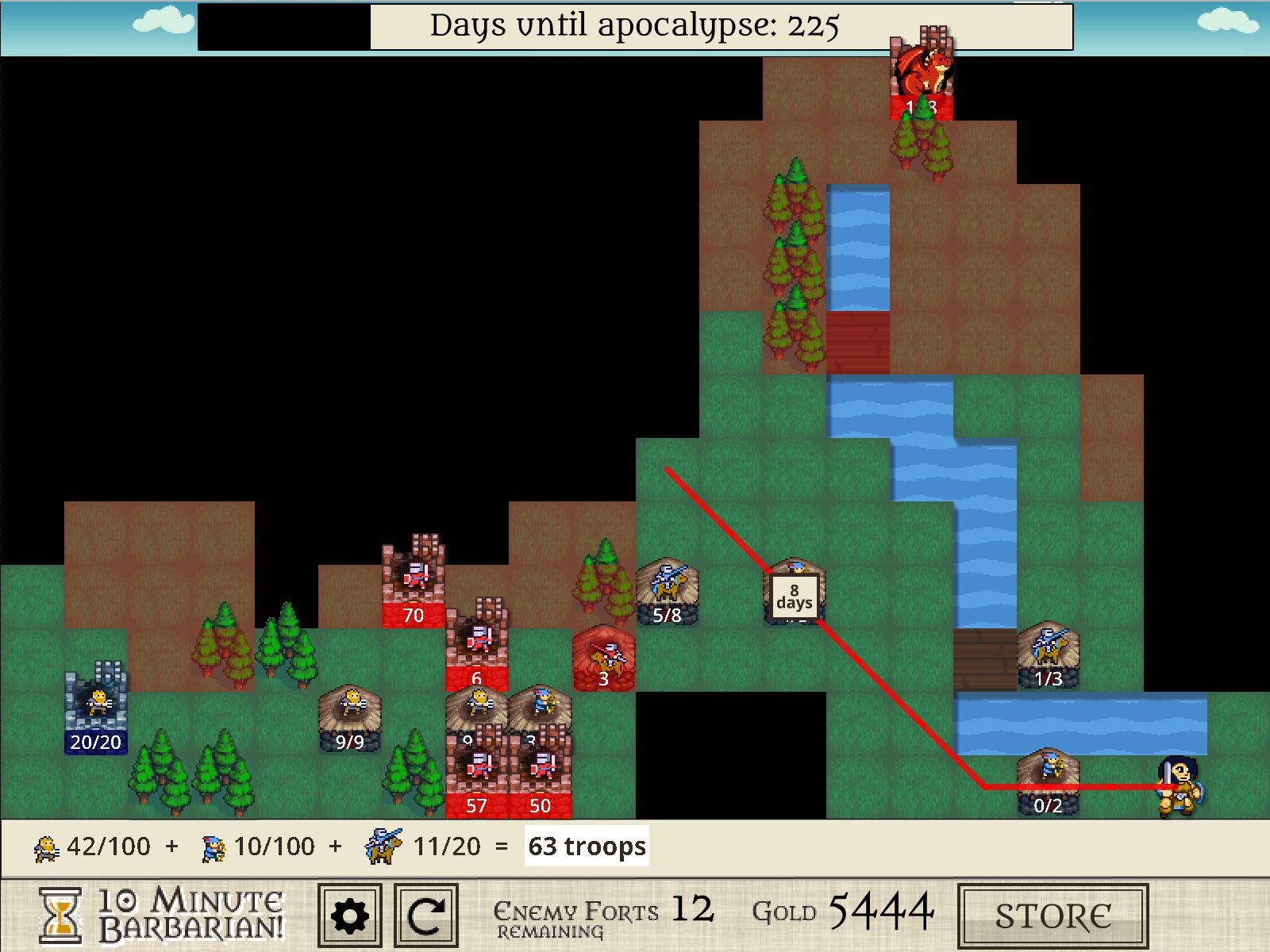 10 Minute Barbarian - стратегия для тех, у кого нет времени на игры