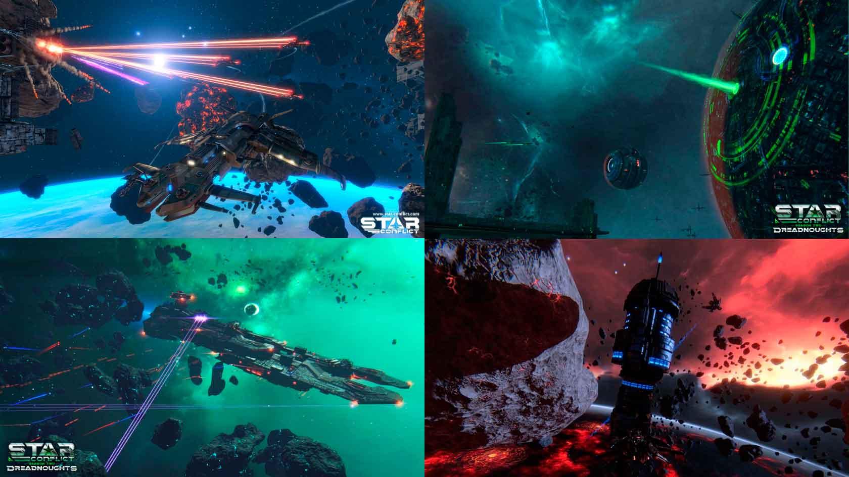 Star Conflict - 2 место в топ 10 самых лучших бесплатных онлайн игр 2020