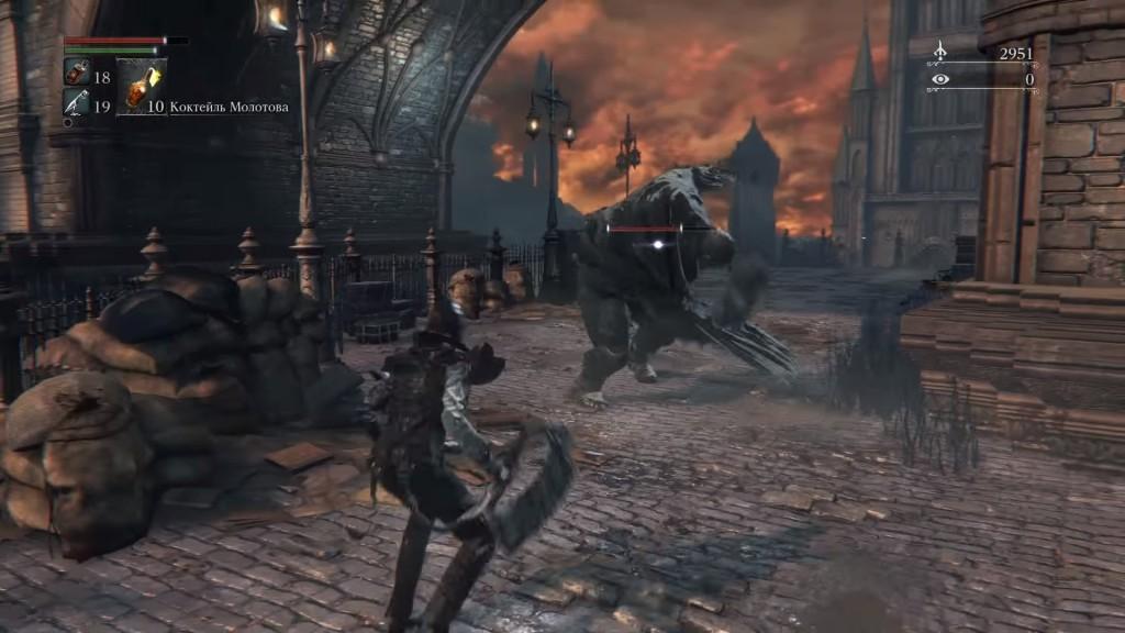 Bloodborne – очередная попаболь