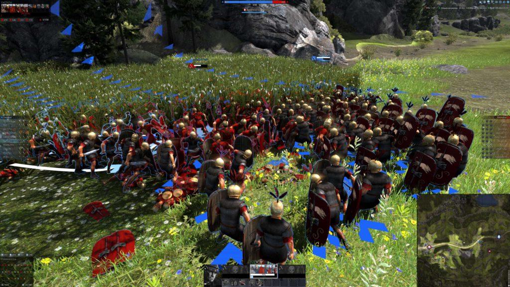 Arena Total War – инновационная MOBA от Wargaming