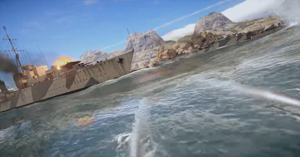 Морские сражения в War Thunder Ships