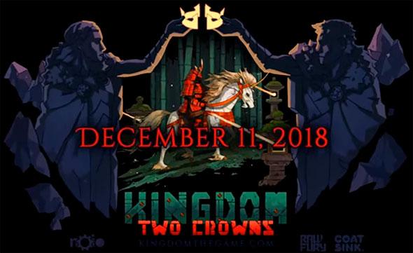 В декабре выходит новая кооперативная стратегия – Kingdom Two Crowns
