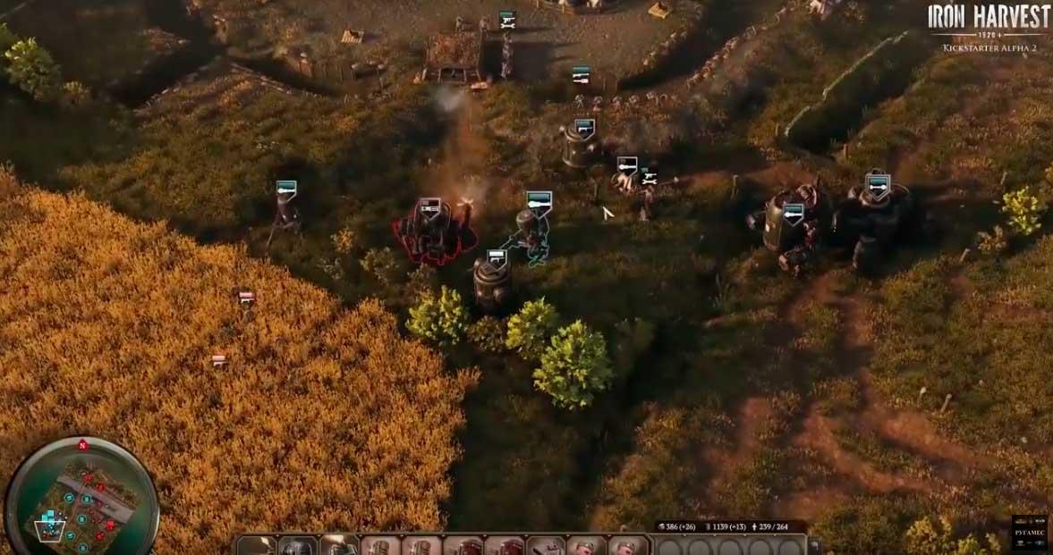 Iron Harvest топает в предзаказ многопользовательской альфы