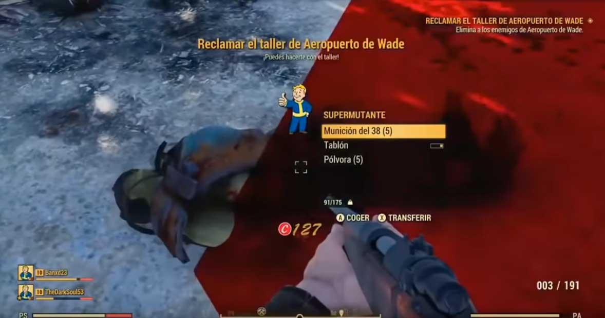 Баги и глюки в Fallout 76