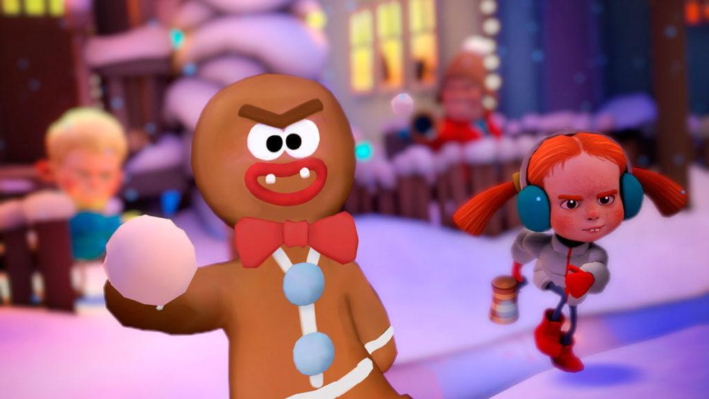 VR-игру Merry Snowballs можно забрать бесплатно в Steam до 31 января