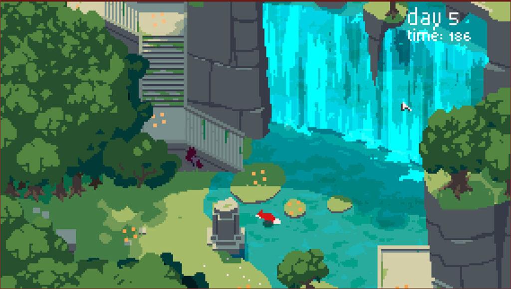Rev – красивая бесплатная игра, в которой нужно кормить лису
