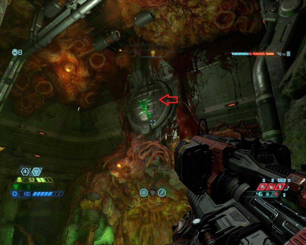 Кровавое супергнездо - разрушаемая стена