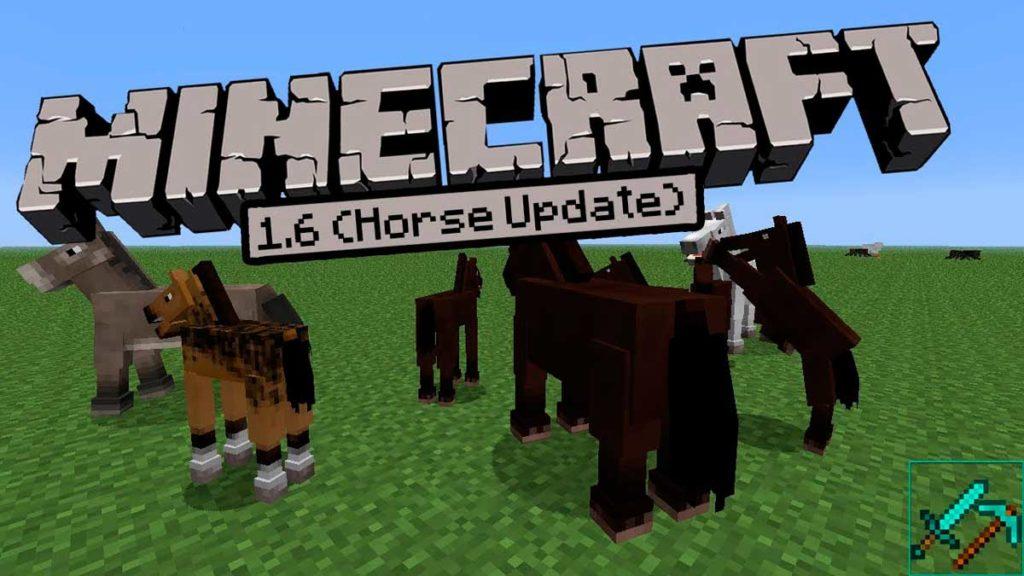 Майнкрафт 1.6.4 - Horse Update